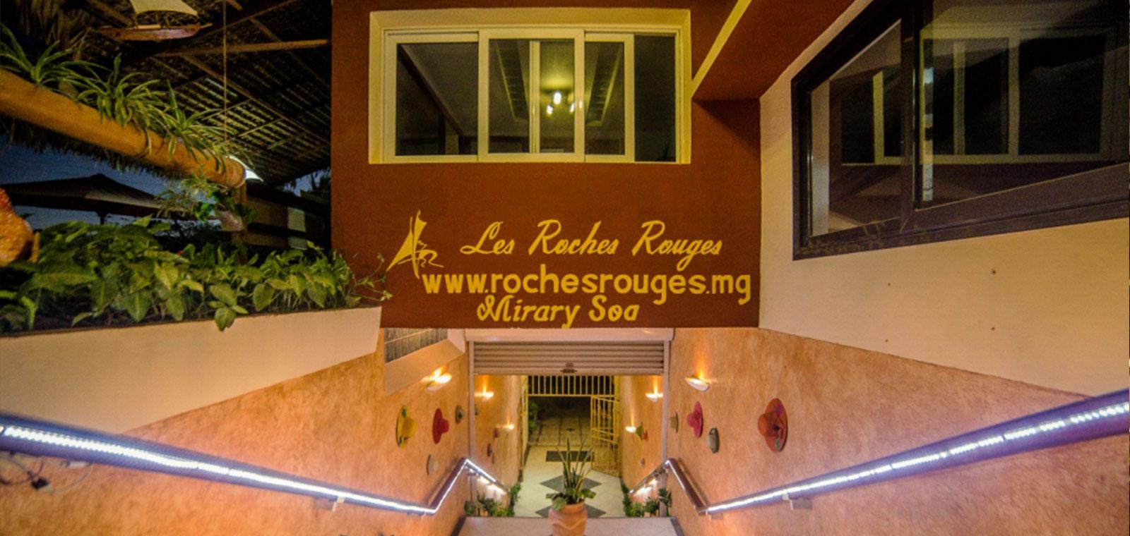 Hôtel de luxe Majunga Les Roches rouges