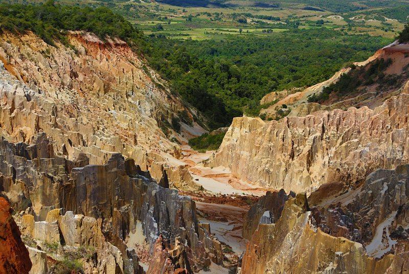 Ankarafantsika canyon