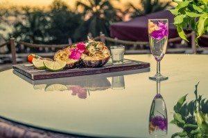 Repas gastronomique - Hôtel Les Roches Rouges