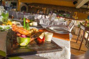 Repas gastronomique- Restaurant Hôtel Les Roches Rouges