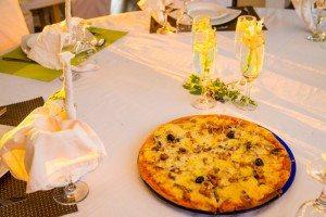 Repas gastronomique chez Hôtel Les Roches Rouges