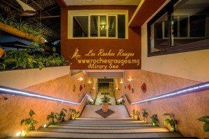 Hotel Majunga Les Roches Rouges Entrée de l'Hôtel