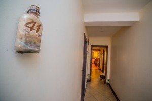 Hôtel Les Roches Rouges Majunga - Couloir