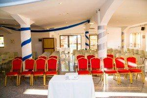 Salle de conférence à Majunga - Hôtel Les Roches Rouges