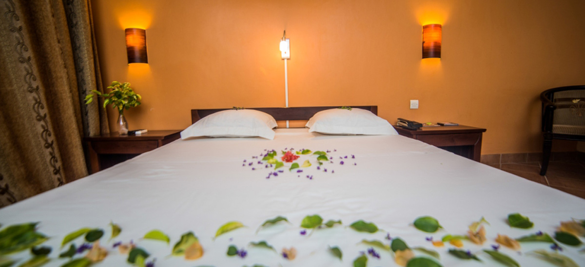Chambres chez Hôtel Les Roches Rouges Majunga