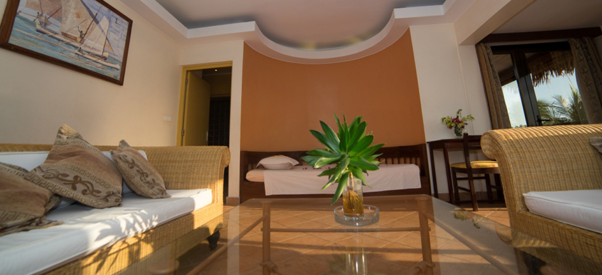 séjour Majunga : Chambres chez Hôtel Les Roches Rouges